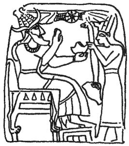 """Canaanite God El"" by Camocon - Own work. Licensed under Creative Commons Zero, Public Domain Dedication via Wikimedia Commons"