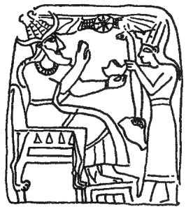 """Canaanite God El"" by Camocon - Own work. Licensed under Creative Commons Zero, Public Domain Dedication via Wikimedia Commons"