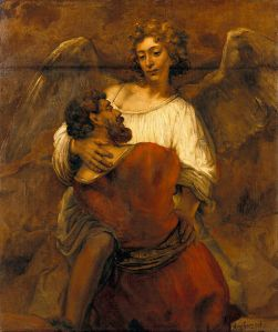 512px-Rembrandt_-_Jacob_Wrestling_with_the_Angel_-_Google_Art_Project