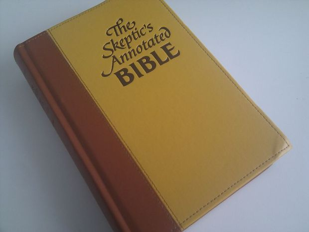 Skeptics Annotated Bible from skepticsannotatedbible.com – image public domain from Wikimedia Commons