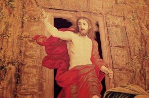 Jesus Resurrection Tapestry
